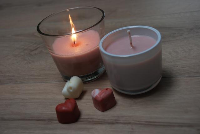 Bougie de massage sensuelle philtre d'amour